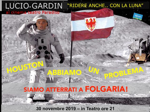 HOUSTON ABBIAMO UN PROBLEMA: SIAMO ATTERRATI A FOLGARIA!